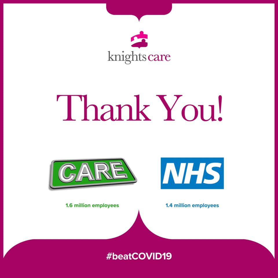 Applauding the care sector!